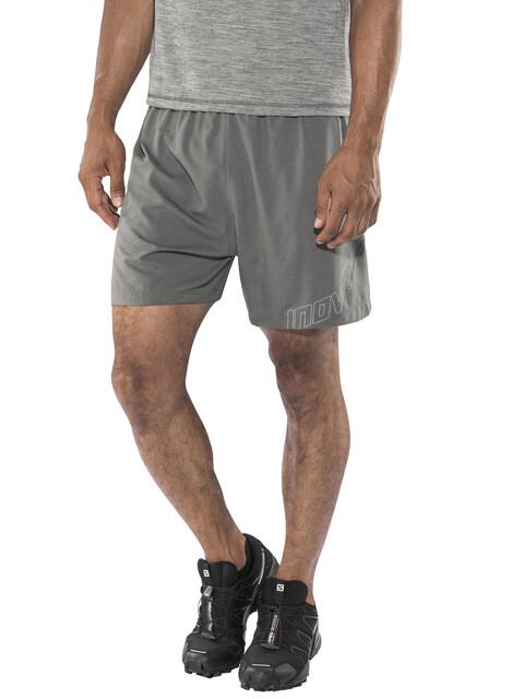 "inov-8 M's AT/C 5"" Trail Shorts dark grey"